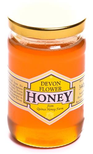 Devon Flower Honey  340g | Quince Honey Farm | South Molton
