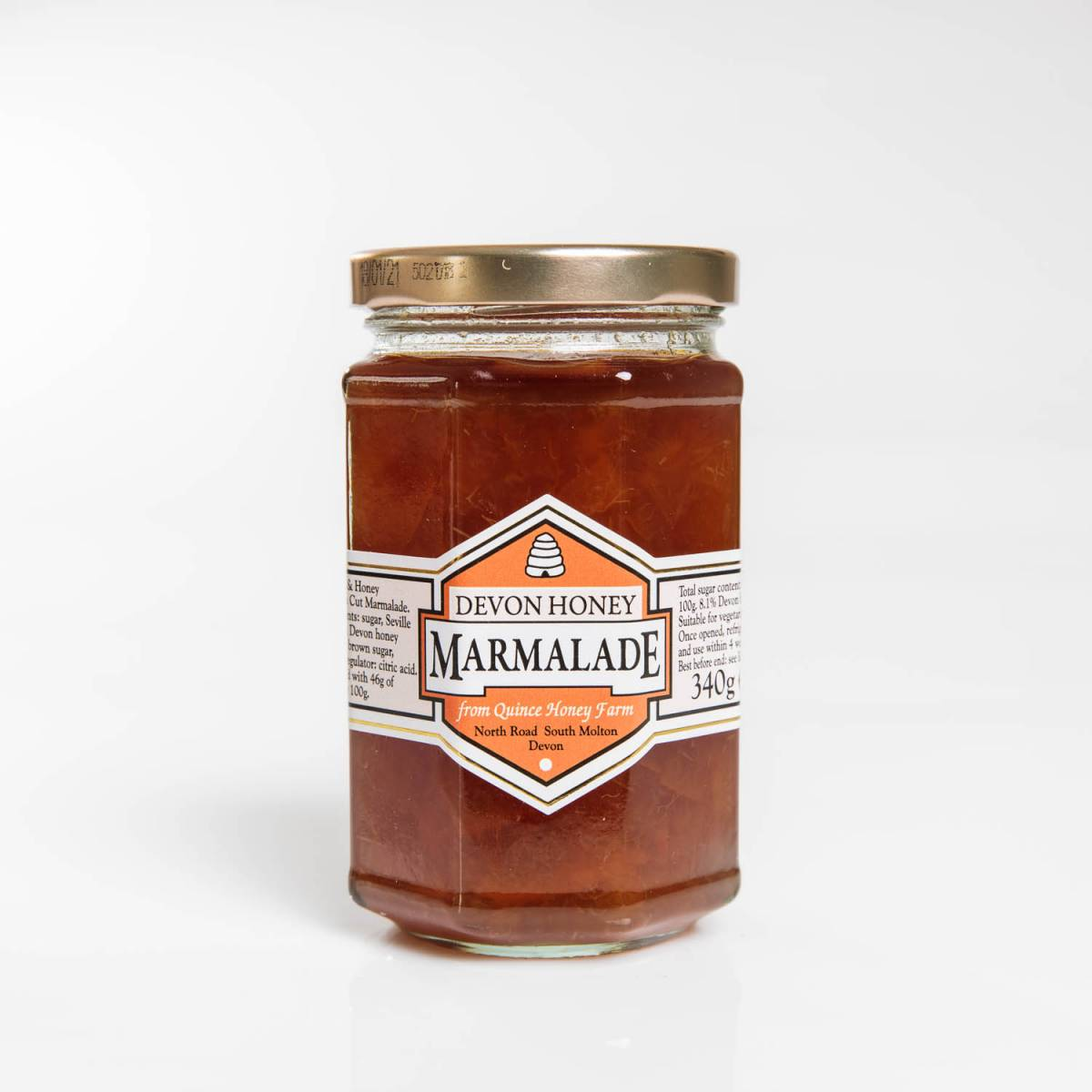 devon honey marmalade 340g