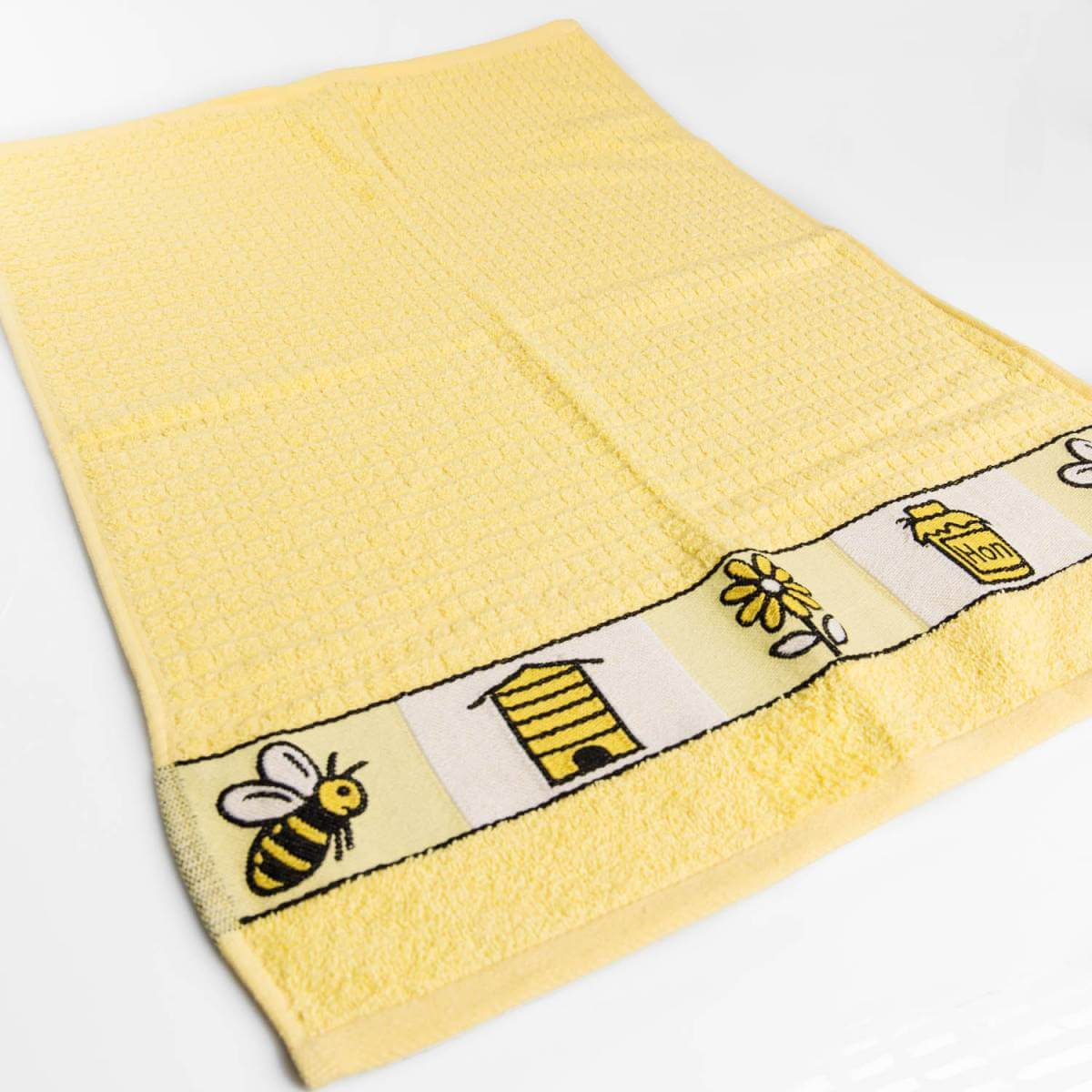 Yellow Bee Hand Towel