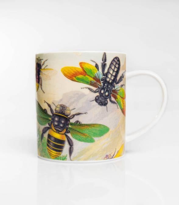 Bee & Beetle Mug
