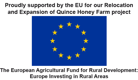 Proudly Supported By EU for our relocation and expansion of Quince Honey Farm Project