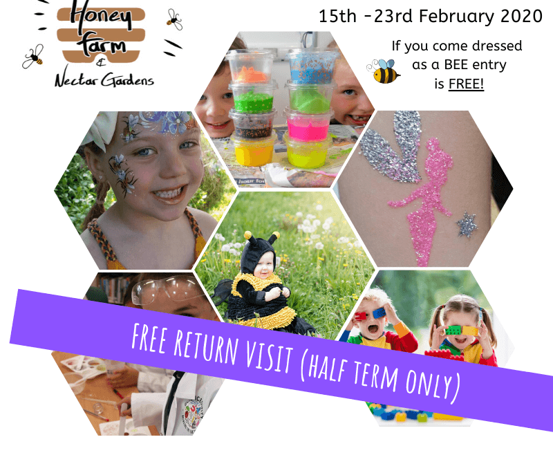 February Half Term at Quince Honey Farm!